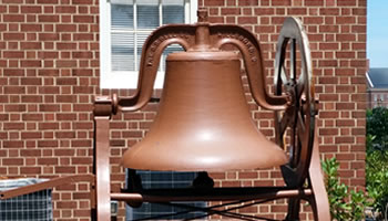 Kannapolis First Baptist Church Bell and Cornerstone
