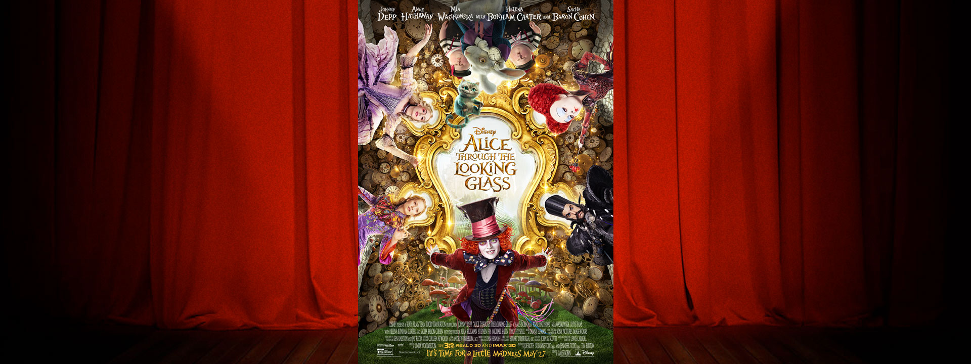 Alice Through the Looking Glass - Now Playing