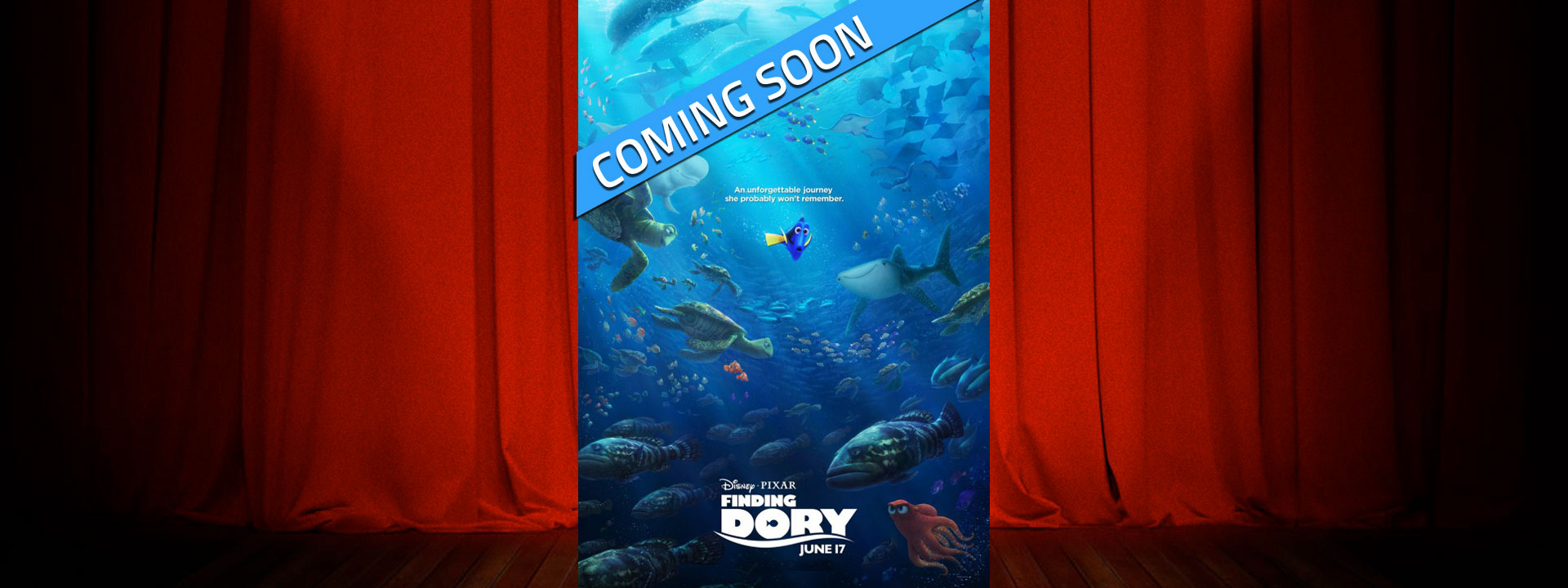 Finding Dory - Coming Soon