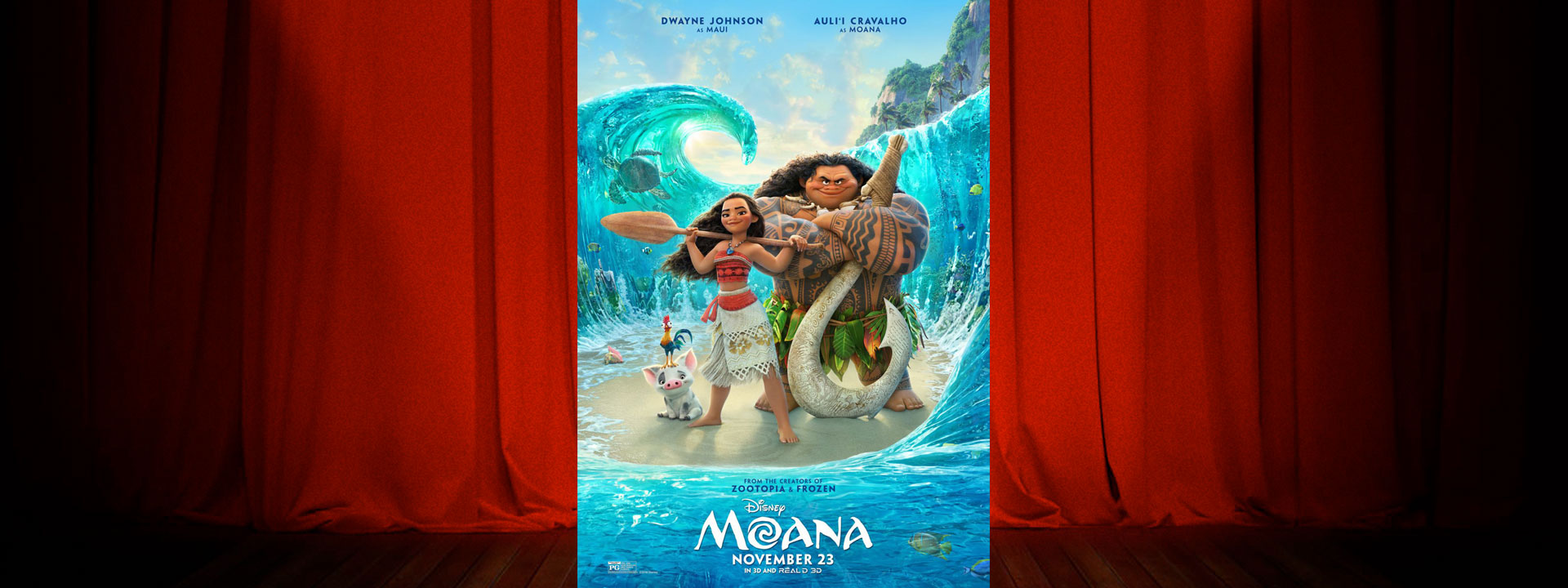 Moana - Now Playing