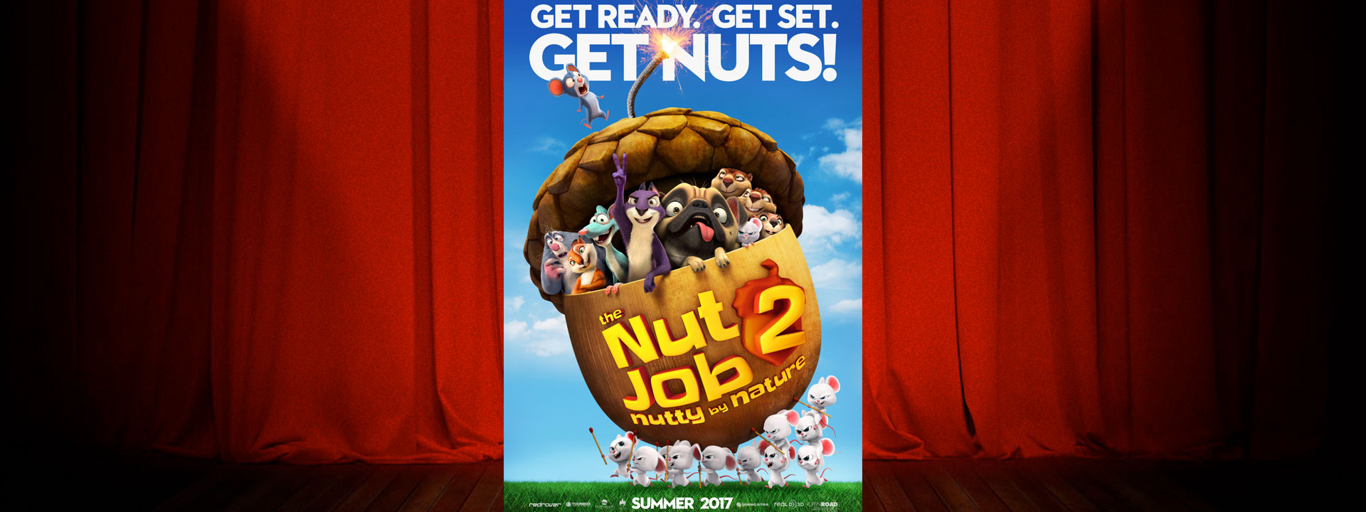 The Nut Job 2: Nutty by Nature - Now Playing
