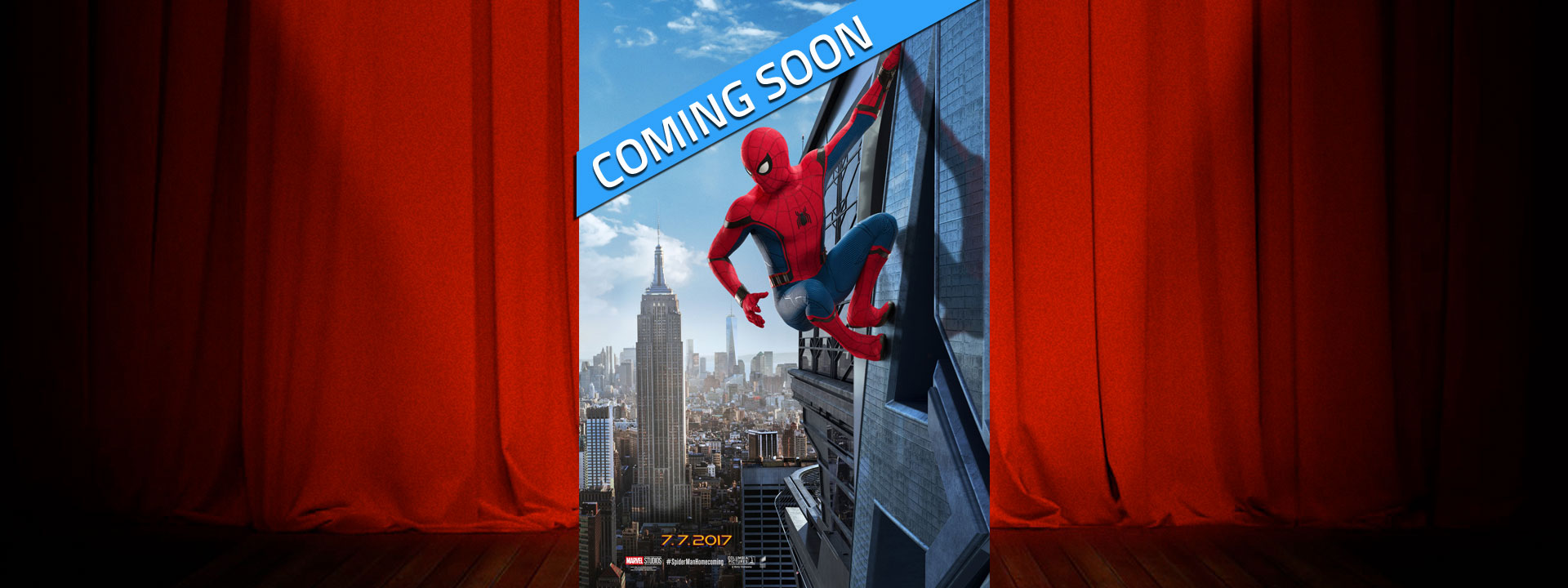 Spider-Man: Homecoming - Coming Soon